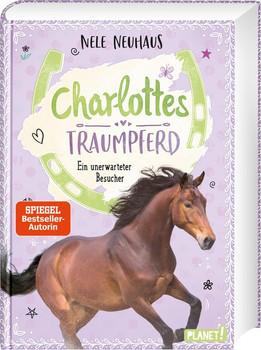 Charlottes Traumpferd 3: Ein unerwarteter Besucher - Nele Neuhaus  [Gebundene Ausgabe]