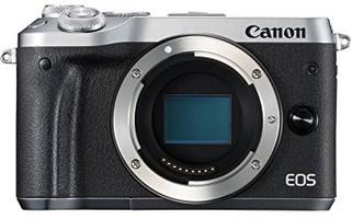 Canon EOS M6 Cuerpo plata