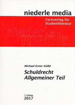 Schuldrecht Allgemeiner Teil - Michael Ernst-Kölbl [Taschenbuch, 7. Auflage 2017]