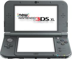 New Nintendo 3DS XL negro metálico