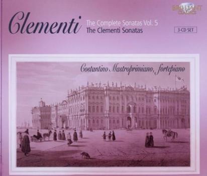 Costantino Mastroprimiano - Sämtliche Klaviersonaten Vol.5