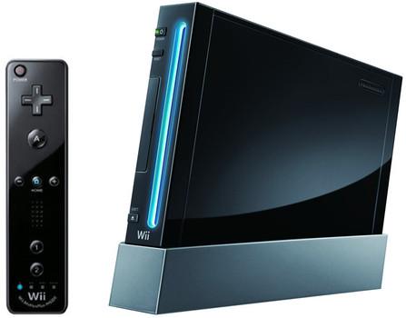 Nintendo Wii [mando plus incluído, Consola sin juego, compatible con Gamecube] negro