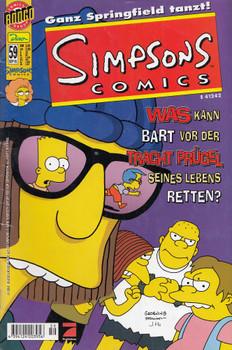Simpsons Comics 59: In Westen nichts neues! - Anne Berling [Broschiert]