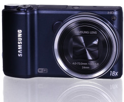 Samsung WB200F negro cobalto