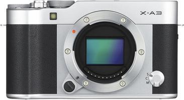 Fujifilm X-A3 Body zilver