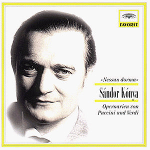 Sandor Konya - Favorit - Sandor Konya singt Opernarien