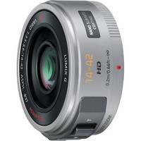 Panasonic Lumix G X VARIO 14-42 mm F3.5-5.6 ASPH. HD PZ 37 mm Objetivo (Montura Micro Four Thirds) plata