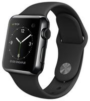 Apple Watch 38mm nero siderale con cinturino Sport nero [Wifi]