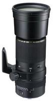 Tamron SP AF 200-500 mm F5.0-6.3 Di IF LD 86 mm Objetivo (Montura Nikon F) negro