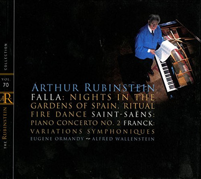Artur Rubinstein - The Rubinstein Collection Vol. 70 (Falla, Saint-Saens, Franck)
