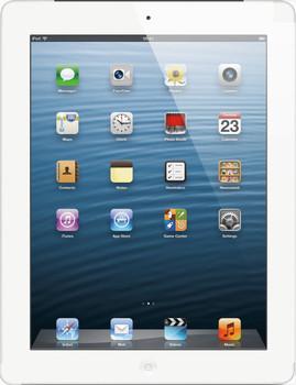 """Apple iPad 4 9,7"""" 64 Go [Wi-Fi + Cellular] blanc"""