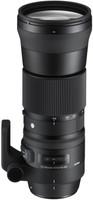 Sigma C 150-600 mm F5.0-6.3 DG HSM OS 95 mm Objectif (adapté à Canon EF) noir