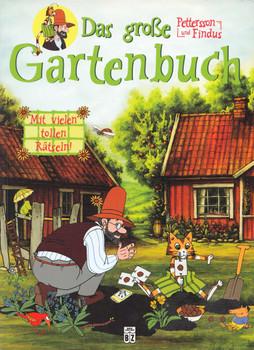 Petterson und Findus: Mit vielen tollen Rätseln! - Das große Gartenbuch - Bettina Grabis [Taschenbuch]