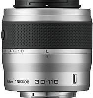 Nikon 1 NIKKOR 30-110 mm F3.8-5.6 VR 40,5 mm filter (geschikt voor Nikon 1) zilver