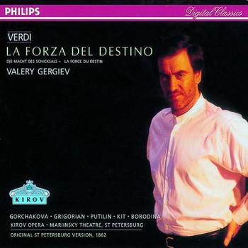Borodina - Verdi: La Forza del Destino (Gesamtaufnahme) (Aufnahme St. Petersburg 1995)