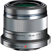 Olympus M.Zuiko Digital 45 mm F1.8 37 mm Objetivo (Montura Micro Four Thirds) plata
