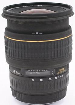 Sigma Zoom 24-70 mm F2.8 ASPH. DG EX Macro 82 mm filter (geschikt voor Sigma SA) zwart