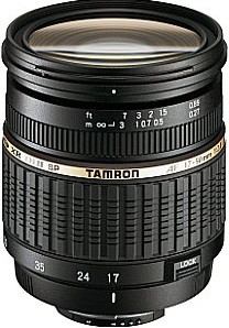 Tamron SP AF 17-50 mm F2.8 ASL Di IF LD XR II 67 mm Obiettivo (compatible con Sony A-mount) nero