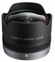 Panasonic Lumix G 8 mm F3.5 Fisheye (geschikt voor Micro Four Thirds) zwart
