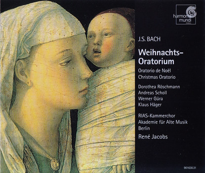 Dorothea Röschmann - Rene Jacobs: Jahann Sebastian Bach - Weihnachts-Oratorium [2 CDs]