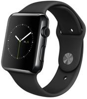 Apple Watch 42mm negro espacial con correa deportiva negra [Wifi]
