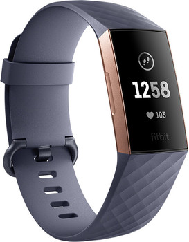 Fitbit Charge 3 blugrigio