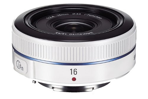 Samsung NX 16 mm F 2.4 43 mm filter (geschikt voor Samsung NX) wit