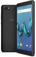 Wiko Tommy 3 16GB [incl. blauwe cover] zwart