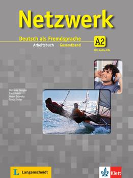 Netzwerk / Arbeitsbuch Gesamtband A2 mit 2 Audio-CDs: Deutsch als Fremdsprache - Dengler, Stefanie