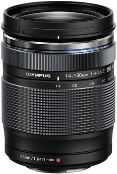 Olympus 14-150 mm F4.0-5.6 ED II 58 mm Obiettivo (compatible con Micro Four Thirds) nero