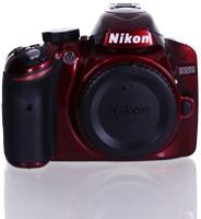 Nikon D3200 Cuerpo rojo