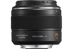 Panasonic Leica DG Summilux 25 mm F1.4 ASPH. 46 mm Objectif (adapté à Micro Four Thirds) noir