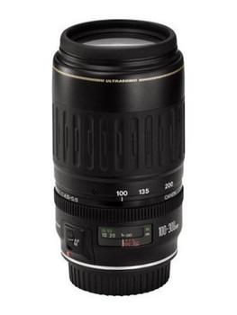 Canon EF 100-300 mm F4.5-5.6 USM 58 mm filter (geschikt voor Canon EF) zwart