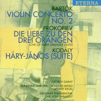 Garay - Violinkonzert 2 / Liebe Z.D.3 Orangen