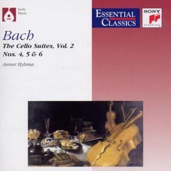 Anner Bylsma - Cello Suites 4, 5 und 6