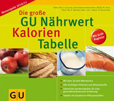 Die große GU Nährwert-Kalorien-Tabelle 2010/2011 - Ibrahim Elmadfa