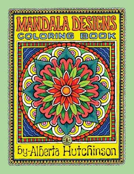 Mandala Designs Coloring Book No. 1: 35  New Mandala Designs (Sacred Design Series) - Hutchinson, Alberta L