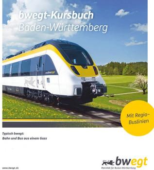 Kursbuch Baden-Württemberg 2019. Regionalverbindungen und Regio-Buslinien [Taschenbuch]