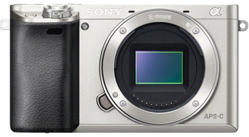 Sony Alpha 6000 zilver