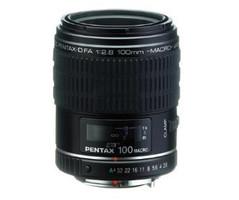 Pentax smc D FA 100 mm F 2.8 49 mm Objectif (adapté à Pentax K) noir