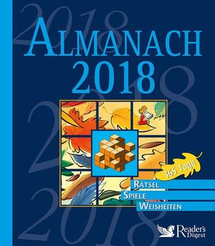 Almanach 2018. 365 Tage - Rätsel, Spiele, Weisheiten [Gebundene Ausgabe]