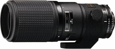 Nikon AF NIKKOR 200 mm F4.0 D ED IF 62 mm Objetivo (Montura Nikon F) negro