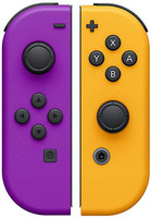 Nintendo Switch Joy Con Set controlli lilla arancione