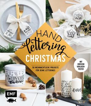Handlettering — Christmas. 50 weihnachtliche Projekte für deine Letterings: mit großem Vorlagenposter [Gebundene Ausgabe]