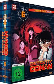 Detektiv Conan - DVD Box 6 [5 DVDs]