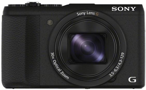 Sony DSC-HX60V zwart