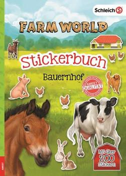 SCHLEICH® Farm World - Stickerbuch Bauernhof [Taschenbuch]
