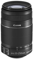 Canon EF-S 55-250 mm F4.0-5.6 IS II 58 mm Objetivo (Montura Canon EF-S) negro