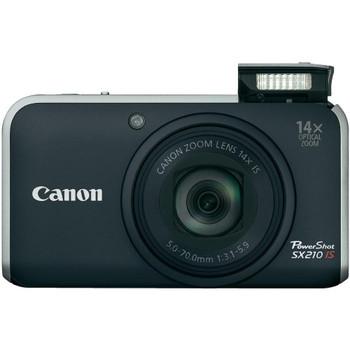 Canon PowerShot SX210 IS zwart