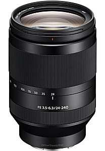 Sony FE 24-240 mm F3.5-6.3 OSS 72 mm Obiettivo (compatible con Sony E-mount) nero